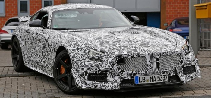 Spy Photos Mercedes AMG GT3 Road Car