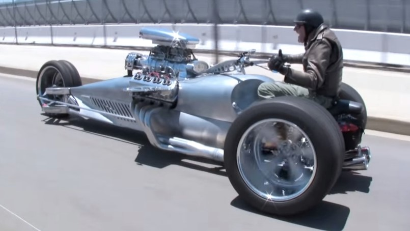 Supercharged Hemi 1000hp Rocket Ii Trike Jay Leno