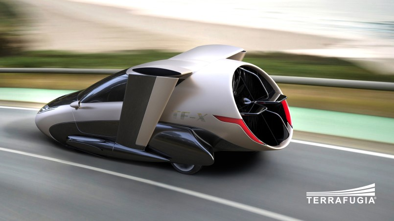 Terrafugia Tf X Flying And Self Driving Car 2