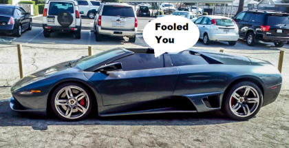 This Replica Lamborghini Murcielago Roadster Will Fool You haha