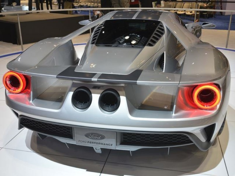 Top Secret Ford Gt Design Studio