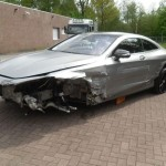 Totaled New Mercedes S63 AMG Selling For $100K (1)