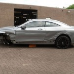 Totaled New Mercedes S63 AMG Selling For $100K (13)