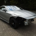 Totaled New Mercedes S63 AMG Selling For $100K (8)