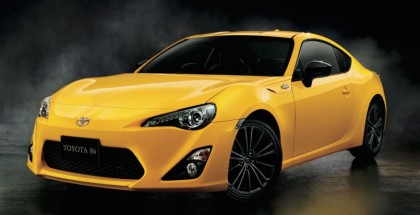 Toyota 86 Yellow Limited - Official (1)