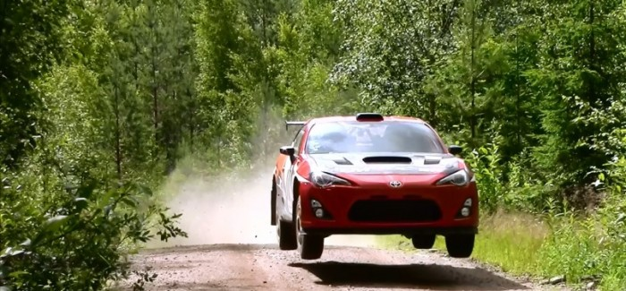 Toyota WRC Master Tommi Mäkinen Testing GT86 4×4 Rally Car – Video