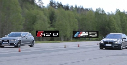 Tuned Audi RS6 vs tuned BMW M5 F10