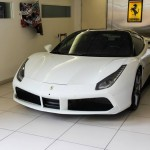 White Ferrari 488 GTB Looks Amazing (1)
