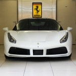 White Ferrari 488 GTB Looks Amazing (2)