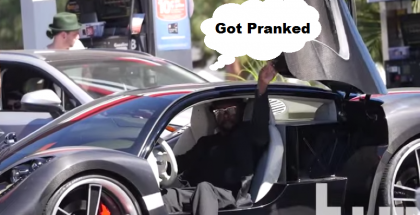 Will I Am - Someone Hit Your Car Prank 2