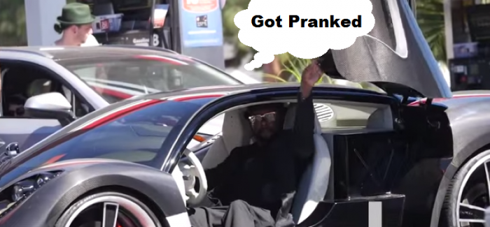 Will I Am – Someone Hit Your Car Prank – Video