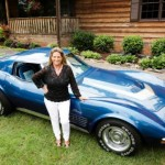 Woman Reunited With Stolen 1972 Corvette Stingray After 43 Years (1)