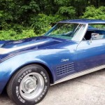 Woman Reunited With Stolen 1972 Corvette Stingray After 43 Years (7)