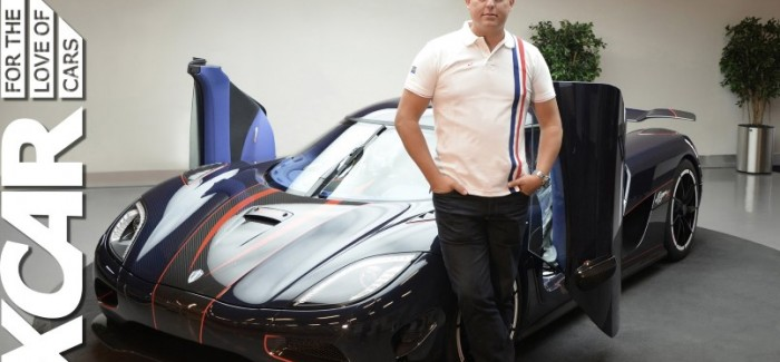 XCAR - Christian von Koenigsegg Interview about the Koenigsegg One1