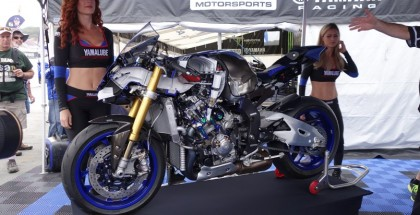 Yamaha R1 M Cut in Half So You Can See The Insides (1)