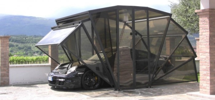 Gazebox new way to garage your supercar – Video
