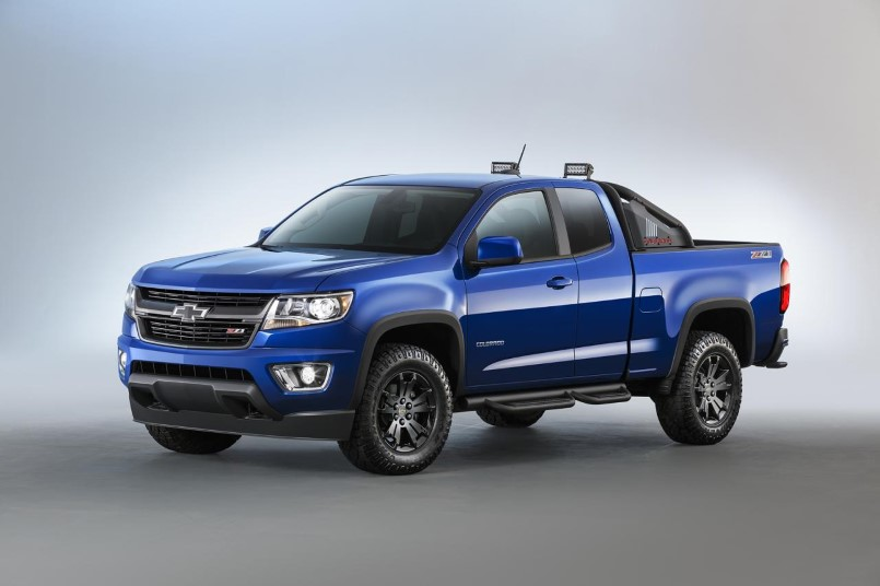 2016 chevrolet colorado midnight edition and colorado z71. Black Bedroom Furniture Sets. Home Design Ideas
