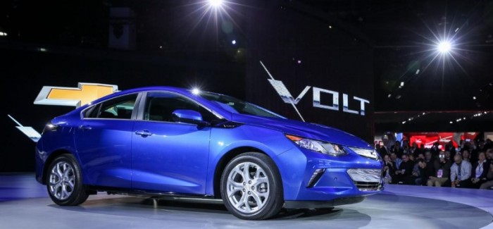 2016 Chevy Volt will have 53-mile electric range