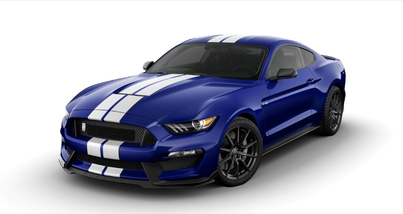 2016 ford mustang shelby gt350 base price from 47 795. Black Bedroom Furniture Sets. Home Design Ideas
