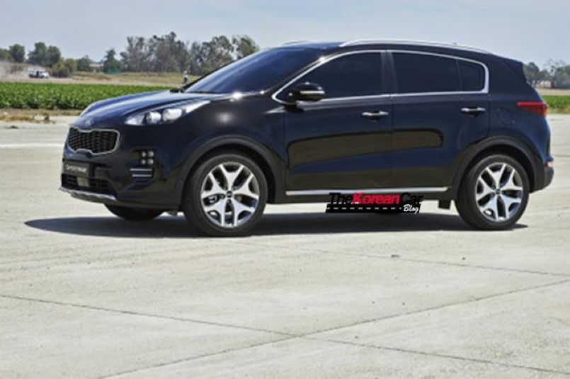 2016 kia sportage official photos leaked dpccars. Black Bedroom Furniture Sets. Home Design Ideas