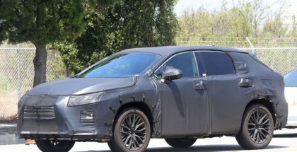 2016 Lexus RX seven-seater spy photos (3)
