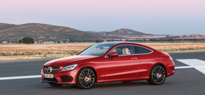 2016 Mercedes C-Class Coupe – Official – Video