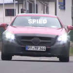 2016 Mercedes SLC with LED headlights spied (3)