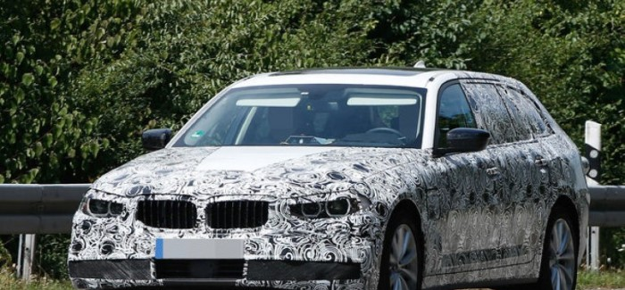 2017 5-Series With A Touring Body Spied