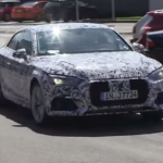 2017 Audi A5 Coupe spied 1