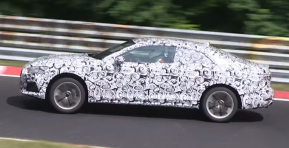 2017 Audi A5 Coupe spied 5
