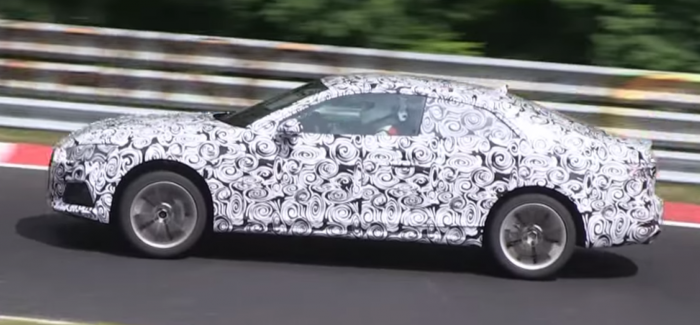 2017 Audi A5 Coupe spied – Video