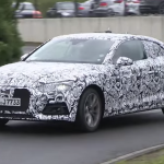 2017 Audi A5 Coupe spied 7