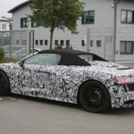 2017 Audi R8 Spyder spy photos (1)