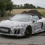 2017 Audi R8 Spyder spy photos (10)