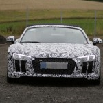 2017 Audi R8 Spyder spy photos (12)