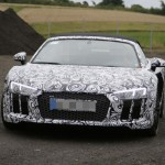 2017 Audi R8 Spyder spy photos (13)