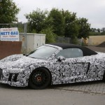 2017 Audi R8 Spyder spy photos (9)