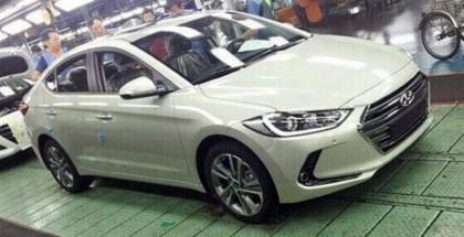 2017 Hyundai Elantra Photos Leaked 1