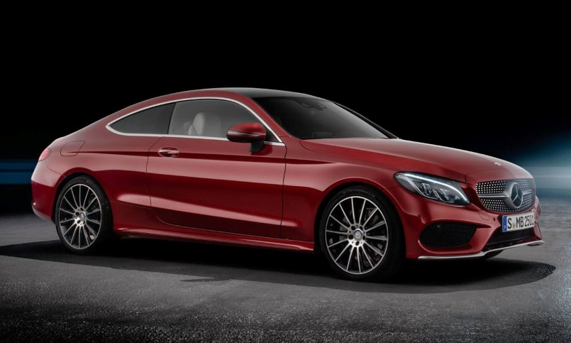 2017 Mercedes Amg C63 Coupe Official Photos Leaked Dpccars