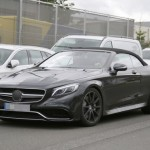 2017 Mercedes-Benz S-Class Cabriolet First Official Image (1)