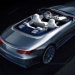 2017 Mercedes-Benz S-Class Cabriolet First Official Image (10)