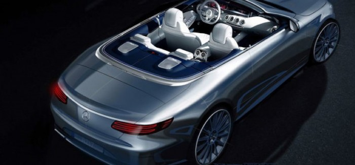 2017 Mercedes-Benz S-Class Cabriolet First Official Image