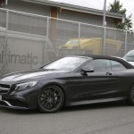 2017 Mercedes-Benz S-Class Cabriolet First Official Image (2)