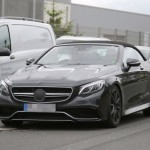 2017 Mercedes-Benz S-Class Cabriolet First Official Image (6)