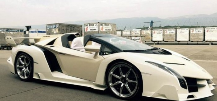 Who owns the lamborghini veneno