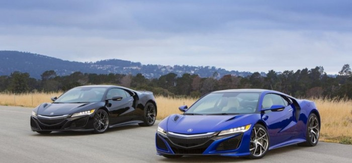 Acura NSX Features and Options on Display at The Quail