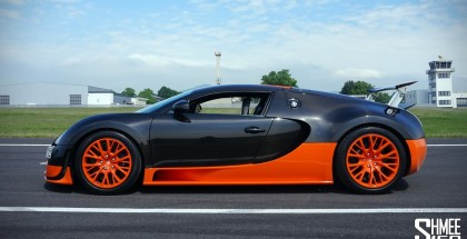 An explanation of the Top Speed Key for the Bugatti Veyron