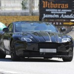 Aston Martin DB11 screenshot from spy photos and video (11)