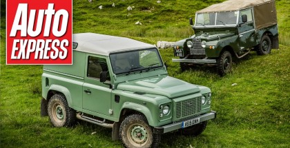 Auto Express - Land Rover Defender Heritage review (2)