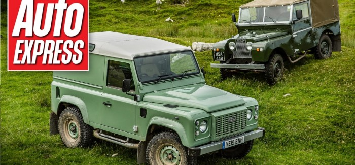 Auto Express – Land Rover Defender Heritage review – Video